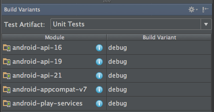 Android Enable Unit Tests